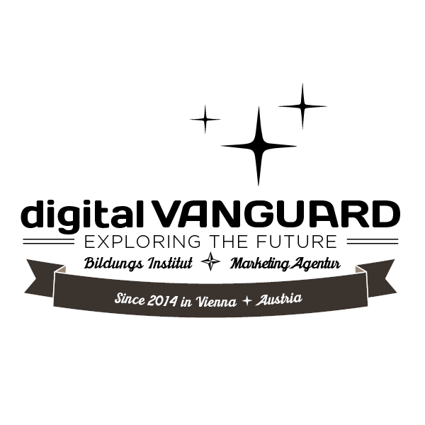 Das aktuelle digital VANGUARD logo